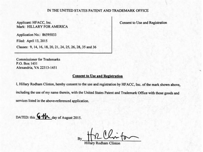Hillary USPTO letter.jpg